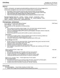 Sales Resume Examples 24 Sales Resume Samples Hiring Managers Will Notice 12
