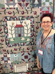 Lynette Anderson Designs: Quilt Festival, Houston 2014 & I waned to create a controlled scrappy look for the quilt and based the  design on my dreams of living in a big country house in England, there are  sweet ... Adamdwight.com