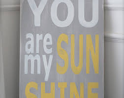you are my sunshine wall art custom wood sign wood wall art  on wooden quote wall art with items similar to wood wall art letter sign vintage sign wood sign