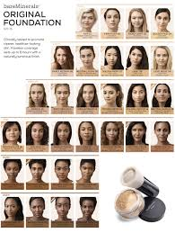 Elizabeth Arden Foundation Color Chart Shade Guide For Bareminerals Original Powder Foundation Spf15