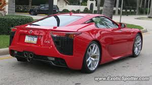 lexus lfa 2014 red. Interesting Lexus Lexus LFA Spotted In Palm Beach Florida Inside Lfa 2014 Red S