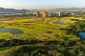 Back then, there were men's individual and team events; Rio De Janeiro The Wonderful City