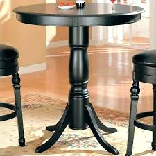 round pub table set small and chairs black innovative on dining room with coaster classic 5 round pub table set