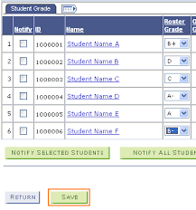 Record Final Grades Student Administration System
