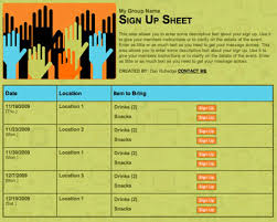 Fundraiser Sign Up Sheet Template 20 Easy Fundraising Tips For Colleges And Organizations