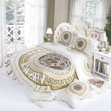 Bedroom Furniture:Versace Bedding Set Modern Beautiful Design, Soft And  Pleasing With Louis Vuitton