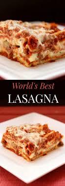 Classic Lasagne Worlds Best Lasagna Gluten Free Option Cupcakes Kale Chips