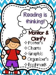 Monitor And Clarify Anchor Chart Monitor And Clarify Reading Is Thinking
