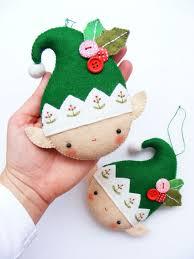 Felt Nativity Ornament  No Tutorial But Easy Enough To Make On My Easy Christmas Felt Crafts