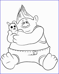 Trolls Coloring Book Admirable Funny Troll Coloring Coloring Pages