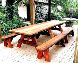 wooden picnic table round wooden picnic table large exquisite grange seat garden little every used in
