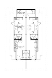 duplex home plan with glamorous duplex house plans