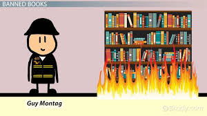 burning books in fahrenheit video lesson transcript censorship in fahrenheit 451 examples analysis