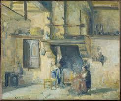 The Kitchen At Piettes Montfoucault Detroit Institute Of Arts Museum