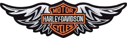 straight silver wing patch harley davidson patches pinterest