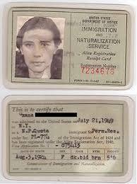 Passport are essentially the same except prescription glasses are allowed in u.s. Green Card Wikipedia