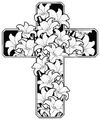 Cross Coloring Pages Printable Coloring Cross Coloring Pages Crosses