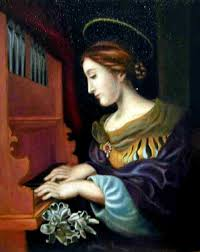Image result for saint cecilia