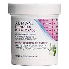 amazon almay oil free eye makeup remover pads 80 pads by almay beauty