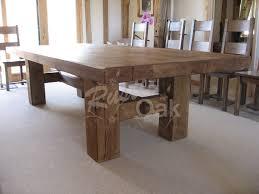 oak dining table. H-base-dining-table Oak Dining Table I