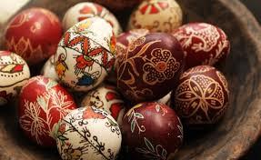 Резултат с изображение за великденски яйца