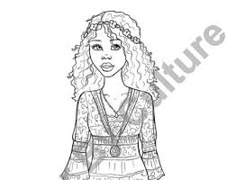 Small Picture Pretty Portraits Vol1 5 Printable Coloring Pages Fashion