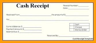 Cheque Payment Receipt Format In Word New Free Cash Receipt Template Billing Statement Excel Word Uk