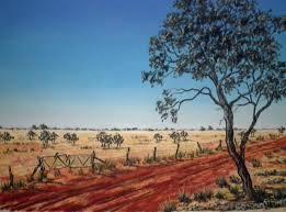 pastel australian outback landscape by sian butler cronache del tempo del sogno ivanolandi blo it