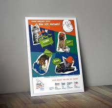 Фрилансер Мария Никитина логотипы иллюстрации и рисунки Россия дипломная работа плакат приюта для животных