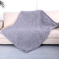 merino wool throw blanket australia hand chunky knitted thick yarn bulky