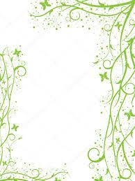 Green Border Stock Vector Filata_nata 6094769
