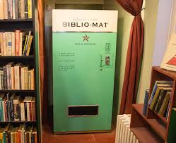 Book Vending Machine Beauteous Awesome Vending Machine Sells Random Books For 48