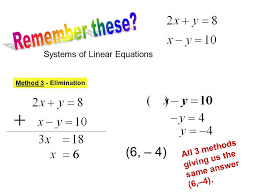 worksheet 14c solving linear systems of equations addition stay at