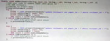 How To Write A Paper Cool Please Write The Query In Java Creating The SQL Chegg