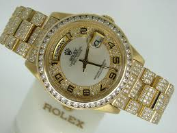 rolex mens gold day date president 18238 for beckertime rolex 18k yellow gold day date president 18238 full diamond 6