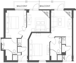one bedroom suites. floor plans of the superior one bedroom suite suites