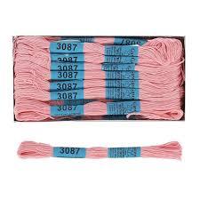 "Нитки для вышивания <b>Гамма</b>(""<b>Gamma</b>"") <b>мулине</b> х/б 8 м. цвет <b>3087</b> ..."