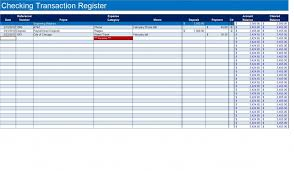 How to Create a Checkbook Register in Excel | TurboFuture