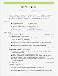 Sale Associate Resume Fresh Retail Sales Resume Examples Samples