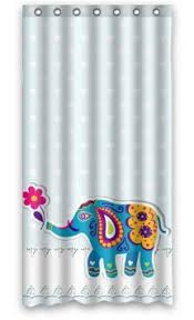shower curtain clipart. get quotations · modern design mildew resistant animal blue elephant clipart sketch shower curtains, width * height curtain