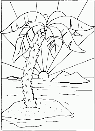 coloring pages of nature scenes follow coloringpagesab