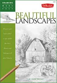 how to draw landscapes lessons tutorials demonstrations by diane wright