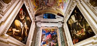 caravaggio s paintings in santa maria del popolo seen during caravaggio tour rome