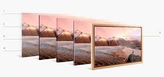photo print floater frame create