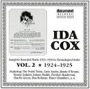 Complete Recorded Works, Vol. 2 (1924-1925)