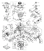tecumseh v70 125202a parts diagrams engine parts list 1
