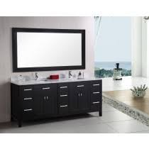 Bathroom double sink cabinets Modern Design Element London double 78inch Espresso Modern Bathroom Vanity Set Bathvanityexpertscom Double Bathroom Vanities Discount Double Sink Bathroom Vanity Sets