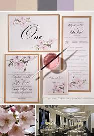 inspirations pink cherry blossom wedding invitationsmomental designs