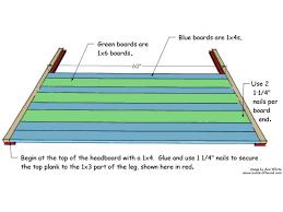 Diy Wood Headboard How To Build A Rustic Wood Headboard How Tos Diy