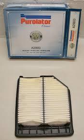 Air Filter Purolator A25653